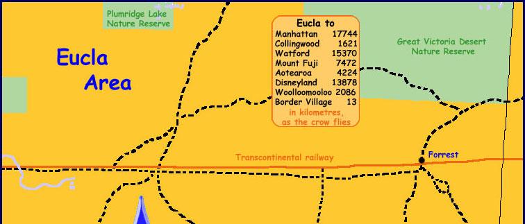 eucla travel map nullarbornetcomau