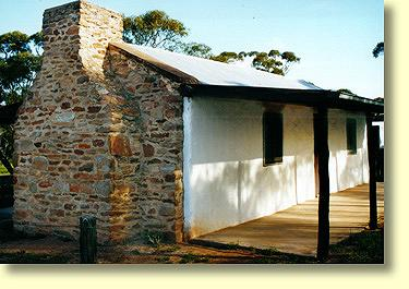 Early  Australian pioneer's house built in 1908. Can be seen at the Kimba and Gawler Ranges Historical Museum.